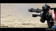 Стреляне с M134 Minigun - Невероятно!