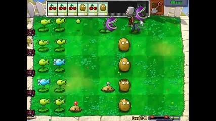 Plants Vs Zombies Level 1-10