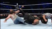 Roman Reigns срещу Luke Harper - Smackdown, 24.09.2015 (кеч разбиване)