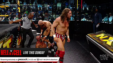 Tommaso Ciampa & Timothy Thatcher vs. Grizzled Young Veterans – Tornado Tag Match: WWE NXT, June 15, 2021