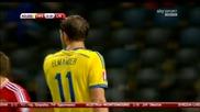 12.10.14 Швеция - Лихтенщайн 2:0 *квалификация за Европейско първенство 2016*
