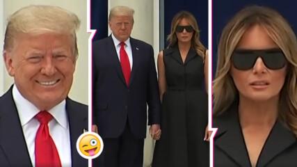 Тръмп направи забележка на Мелания, как реагира тя
