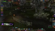 World of Warcraft - Feral Druid Pvp in Gilneas (patch 4.1