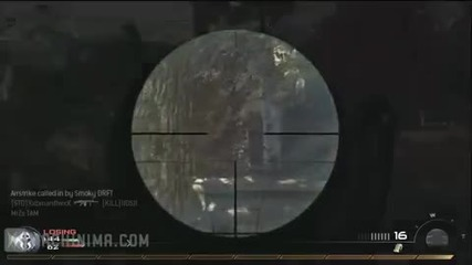 Modern Warfare 2: Pro at work + comentary