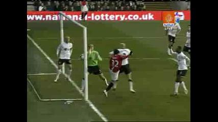Fulham - Man Utd 0:1 Tevez.avi