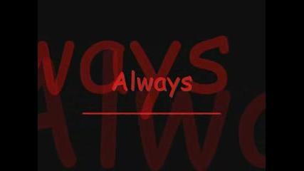 Bon Jovi - Always with lyrics