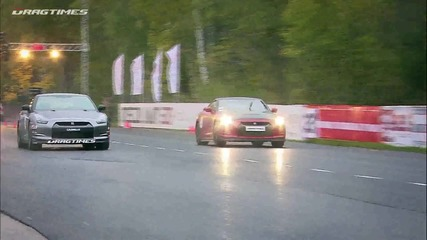 Drag Race - Jeep Srt-8 7.2l Twin Turbo vs Nissan Gt-r Ams Alpha 12