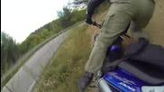 Първото ми падане с мотор и каране до Юндола