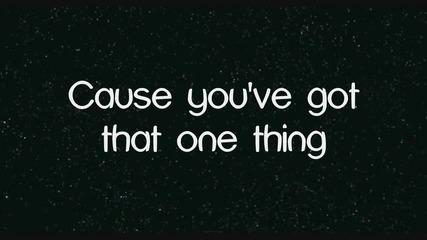 One Direction - One Thing - Lyrics