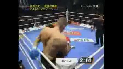 K- 1 World Grand Prix 2007 Финал Peter Aerts Vs Semmy Schilt