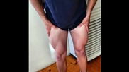 Тренировка за крака / Как да тренираме с контузия / Blood flow restriction training