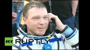 Kazakhstan: ISS crew is all smiles after safe landing