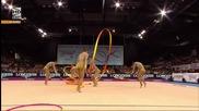 България - ленти - многобой - Световно първенство по художествена гимнастика