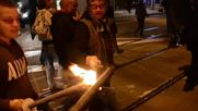 Germany: Far-right torch-lit march illuminates Magdeburg on Kristallnacht anniversary