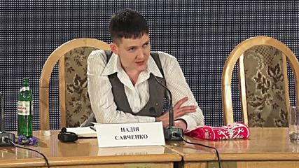 Ukraine: Savchenko talks jobs opportunities in Kiev after prisoner swap