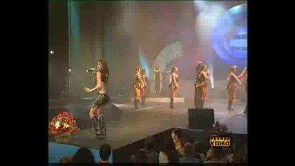 Малина - Обичам Лудо. 1 Година Планета Тв 2002