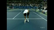 Novak Djokovic Impersonations - Us Open 07