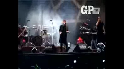 Ville valo Interview -Hultsfred Fest 2008