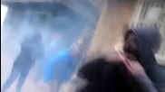 Turkey: Tear gas used as anti-curfew protesters clash with Diyarbakir police