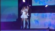 Violetta Live: Abrazame y veras (+разговора им) Превод