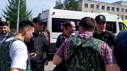 Russia: Emergency services on scene following deadly school shooting in Kazan