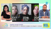 Андреа Банда Банда: Най-интересното от социалните профили на звездите - На кафе (25.02.2021)