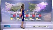 Прогноза за времето (24.12.2014 - обедна)