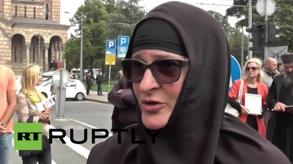 Serbia: Anti-LGBT protesters, police fill Belgrade during Gay Pride march