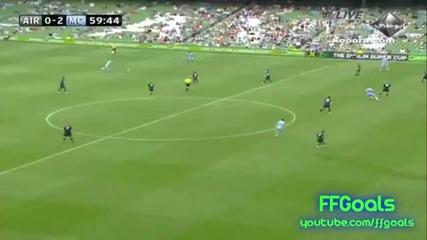 Ирландска Лига Xi 0-3 Манчестър Сити (всички голове)