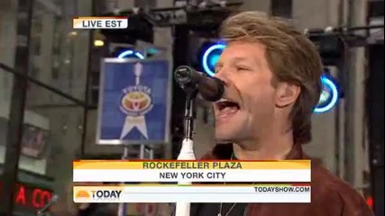 Bon Jovi - You Give Love A Bad Name( Live 25.11.2009)