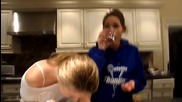 Cinnamon Challenge by Emily and Anja