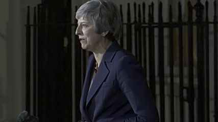UK: Cabinet approves draft Brexit agreement - May