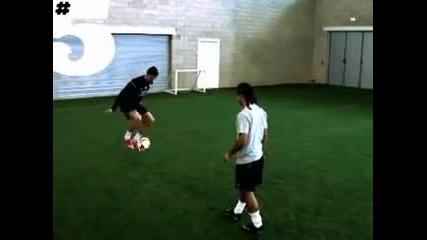 Тренировка със cristiano Ronaldo