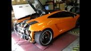 Як Рев на Lamborghini Gallardo
