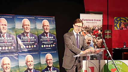 Italy: Centre-left candidate Giani wins presidency of Tuscany in regional elections