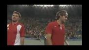 Федерер и Вавринка с титлата на двойки от Олимпийските игри в Пекин 2008