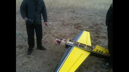 Izlitane Yak-54 ot 29.x.2012