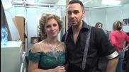Dancing Stars - Нана и Мирослав с призив за гласуване (10.04.2014г.)