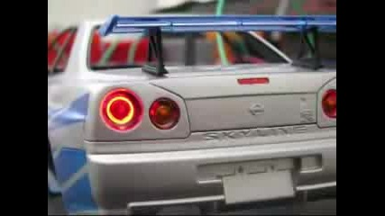 2 Fast 2 Furious 124 Skyline (making Of)