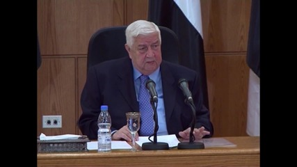 Syria: De Mistura has 'no right' to comment on presidential election - FM Muallem