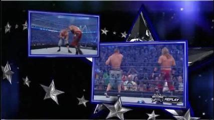 Кечмания 25 - Острието - Джон Сина - Грамадата / Wrestlemania 25 Edge - Big Show - John Cena for Whc