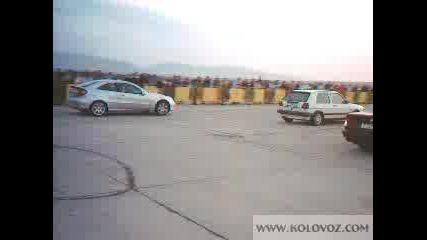 Bmw M5 Vs Mercedes Vs Golf 2
