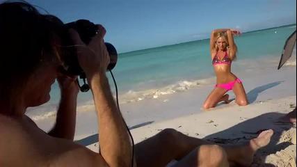 Adriana Lima Welcome to paradise 2012 Victoria's Secret Swimwear shoot.