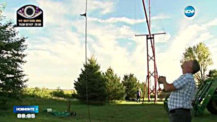 Американец направи най-голямата люлка в света