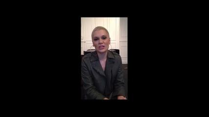 Jessie J Поздравява България