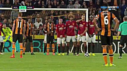 Хъл Сити - Манчестър Юнайтед 0:0 /полувреме/