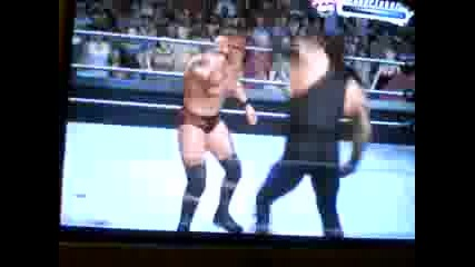 Wwe 2009 Undertaker vs Randy Orton for Wh Title