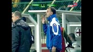 Черноморец - Левски 0:2 (полувреме)