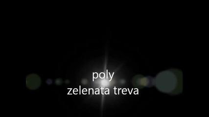 poly-zelenata treva