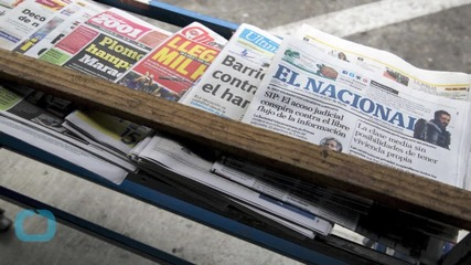 Venezuelan Parliament Chief Planning Lawsuits Against Media Outlets
